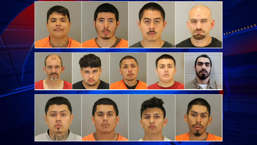 14 gang members arrested, 2 more wanted after drug and